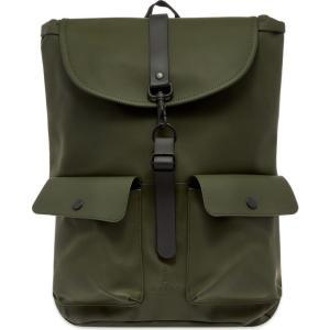 レインズ Rains メンズ バックパック・リュック バッグ camp backpack Green|fermart