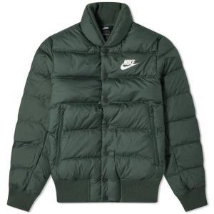 ナイキ Nike メンズ ダウン・中綿ジャケット ミリタリージャケット アウター down bomber jacket Galactic Jade/Sail|fermart