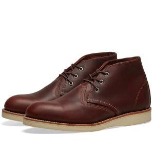 レッドウィング Red Wing メンズ ブーツ チャッカブーツ シューズ・靴 3141 Heritage Work Chukka Briar Oil Slick fermart