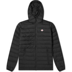 ダントン Danton メンズ ダウン・中綿ジャケット アウター middle down jacket Black|fermart