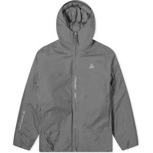 ナイキ Nike メンズ ダウン・中綿ジャケット アウター ACG Puffer Jacket Black/Anthracite|fermart