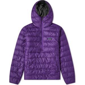 パタゴニア Patagonia メンズ ダウン・中綿ジャケット アウター Down Sweater Hoody Purple|fermart