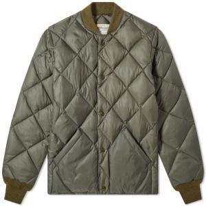 ザ リアル マッコイズ The Real McCoys メンズ ダウン・中綿ジャケット アウター the real mccoy's quilted down jacket Olive|fermart