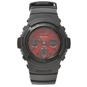 ジーショック G-Shock メンズ 腕時計 Casio AWG-M100SAR Watch Adrenaline Red|fermart