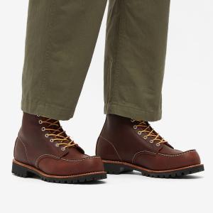 レッドウィング Red Wing メンズ ブーツ ワークブーツ シューズ・靴 8146 Roughneck Work Boot Briar Oil Slick fermart