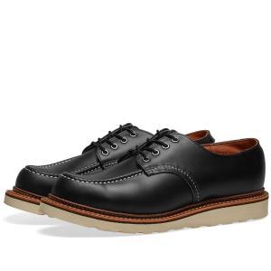 レッドウィング Red Wing メンズ 革靴・ビジネスシューズ シューズ・靴 8106 Heritage Work Classic Oxford Black Chrome fermart