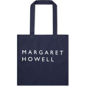 マーガレットハウエル Margaret Howell メンズ トートバッグ バッグ logo tote bag Navy fermart