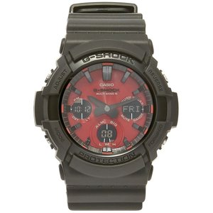 ジーショック G-Shock メンズ 腕時計 Casio GAW-100AR Watch Adrenaline Red|fermart