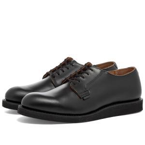 レッドウィング Red Wing メンズ 革靴・ビジネスシューズ シューズ・靴 101 Heritage Work Postman Oxford Black Chaparral fermart