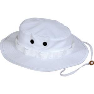 ロスコ Rothco メンズ ハット 帽子 boonie hat White|fermart