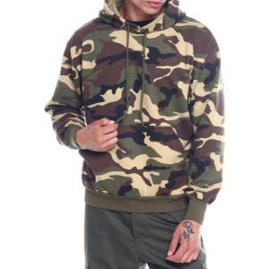 ロスコ Rothco メンズ パーカー スウェット トップス camo pullover hooded sweatshirt Woodland Camo|fermart