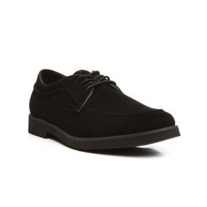 ハッシュパピー メンズ 革靴・ビジネスシューズ シューズ・靴 suede bracco mt oxford shoes Black|fermart