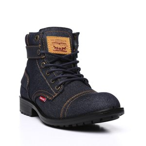 リーバイス メンズ ブーツ シューズ・靴 artesia denim ul inj boots Navy|fermart
