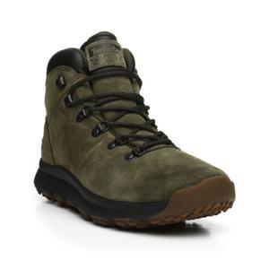 ティンバーランド Timberland メンズ シューズ・靴 ハイキング・登山 world hiker mid boots Olive|fermart