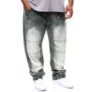 アカデミクス Akademiks メンズ ジーンズ・デニム ボトムス・パンツ core sateen jeans (b&t) Olive|fermart