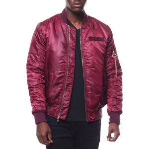 バイヤーズピック Buyers Picks メンズ ブルゾン アウター ma1 jacket by wt02 Burgundy|fermart