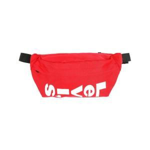 リーバイス Levi's メンズ ショルダーバッグ バッグ levis logo sling bag Red|fermart