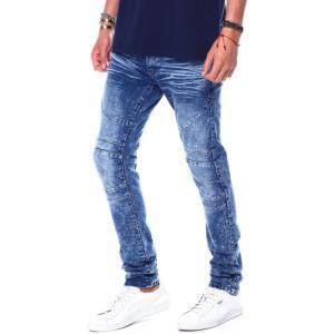 リーズン Reason メンズ ジーンズ・デニム ボトムス・パンツ pierce jean Blue|fermart