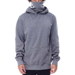 リーズン Reason メンズ パーカー デザインマスク ブランド トップス face cover hoodie Grey|fermart