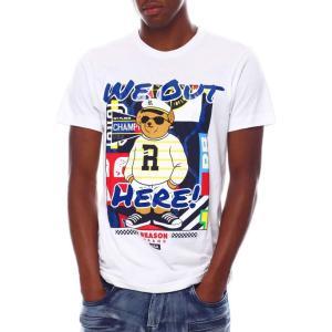 リーズン Reason メンズ Tシャツ トップス we out here tee White|fermart