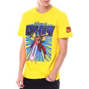 ボーンフライ Born Fly メンズ Tシャツ トップス fly guy graphic tee Yellow|fermart