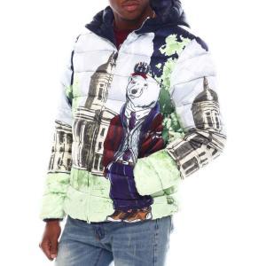 ボーンフライ Born Fly メンズ ダウン・中綿ジャケット アウター hampton bubble jacket Multi|fermart
