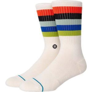 スタンスソックス Stance Socks メンズ ソックス インナー・下着 maliboo crew socks Natural|fermart