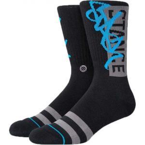 スタンスソックス Stance Socks メンズ ソックス インナー・下着 stash og crew socks Black|fermart