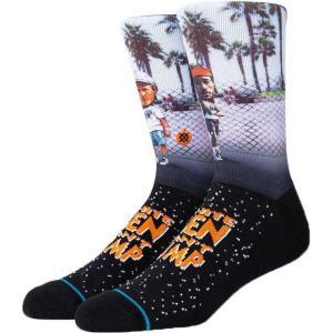 スタンスソックス Stance Socks メンズ ソックス インナー・下着 sid and billy crew socks Black|fermart