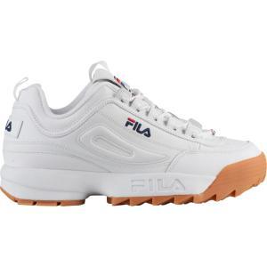 フィラ Fila メンズ シューズ・靴 フィットネス・トレーニング Disruptor II White/Navy/Gum|fermart