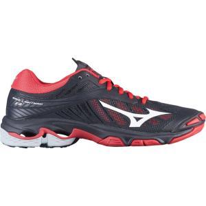 ミズノ レディース シューズ・靴 バレーボール Wave Lightning Z4 Black/Red|fermart