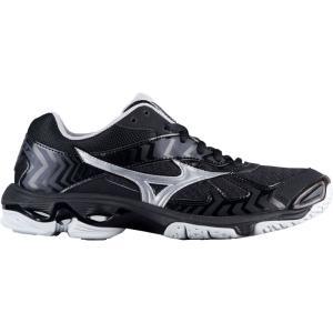 ミズノ Mizuno レディース シューズ・靴 バレーボール Wave Bolt 7 Black/Silver|fermart