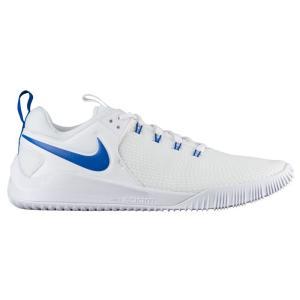 ナイキ レディース シューズ・靴 バレーボール Zoom Hyperace 2 White/Game Royal|fermart
