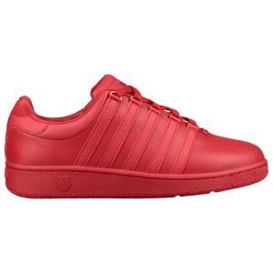 ケースイス K-Swiss メンズ シューズ・靴 テニス Classic VN Ribbon Red/Ribbon Red|fermart