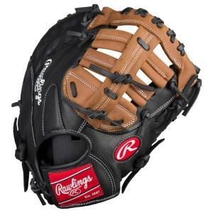 ローリングス Rawlings メンズ 野球 ファーストミット グローブ mark of a pro pro taper 1st base mitt Black/Tan 11.5