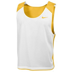 ナイキ メンズ トップス ラクロス Nike Team Reversible Mesh Tank Team Bright Gold/White/Team Bright Gold|fermart