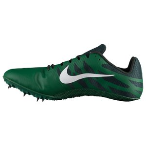 ナイキ Nike メンズ シューズ・靴 陸上 Zoom Rival S 9 Gorge Green/White/Outdoor Green/Black|fermart