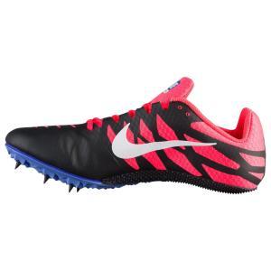 ナイキ レディース シューズ・靴 陸上 Nike Zoom Rival S 9 Black/White/Solar Red/Persian Violet|fermart