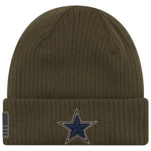 ニューエラ New Era メンズ ニット 帽子 NFL Salute To Service Knit Army fermart