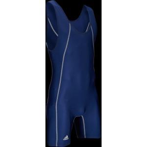 アディダス adidas メンズ トップス レスリング Wide Side Panel Singlet Navy/Navy|fermart