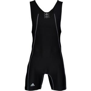 アディダス adidas メンズ トップス レスリング Wide Side Panel Singlet Black|fermart