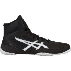 アシックス ASICS メンズ シューズ・靴 レスリング Mat Control Black/White|fermart