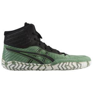 アシックス メンズ シューズ・靴 レスリング Aggressor 4 Cedar Green/Black fermart