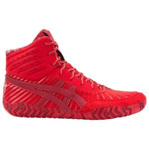 アシックス ASICS メンズ シューズ・靴 レスリング Aggressor 4 LE Burgundy/Classic Red|fermart