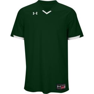 アンダーアーマー メンズ トップス 野球 Team Ignite V-Neck Baseball Jersey Dark Green/White|fermart