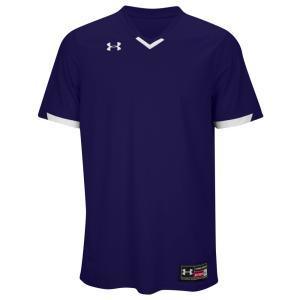 アンダーアーマー メンズ トップス 野球 Team Ignite V-Neck Baseball Jersey Purple/White fermart