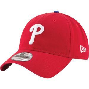 ニューエラ メンズ キャップ 帽子 MLB 9Twenty Core Classic Replica Cap Red fermart