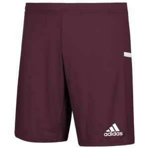 アディダス adidas メンズ フィットネス・トレーニング ショートパンツ ボトムス・パンツ Team 19 Knit Shorts Maroon/White|fermart