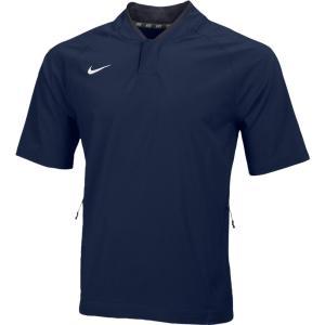 ナイキ メンズ 野球 ウェア ジャケット Nike Team Hot Jacket Team College Navy/Team Anthracite/White|fermart