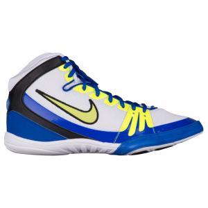 ナイキ メンズ シューズ・靴 レスリング Nike Freek White/Racer Blue/Volt|fermart